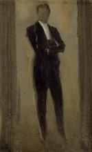 James Abbott McNeill Whistler, Ritratto di un uomo in abito da sera | Portrait of a man in evening dress