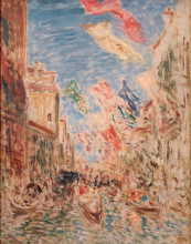 Félix Ziem, Venezia, festa dell'Assunta