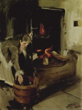 Zorn, Accanto al focolare | Vid spisen | By the fireplace