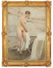 Zorn, Accanto alla vasca da bagno | Vid badkaret | By the bath tub