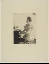 Zorn, Al pianoforte | At the piano
