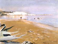 Zorn, Algeri dal Jardin d'essai | Alger från Jardin d'Essai | Algiers from the Jardin d'essai
