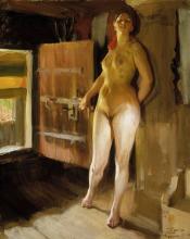 Zorn, Alla porta della soffitta | Loftsdörren | Luhdin ovella | At the door of the loft