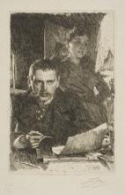 Zorn, Autoritratto con la moglie Emma | Självporträtt med hustrun Emma | Self-portrait with his wife Emma