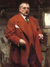 Zorn, Autoritratto in rosso | Självporträtt i rött | Self-portrait in red