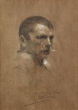 Zorn, Autoritratto   Självporträtt   Self-portrait   Portrait de Zorn par lui-même