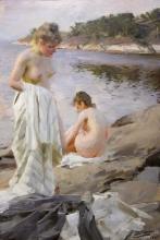 Zorn, Bagnanti | Badande | Baigneuses | Bathers