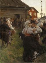 Zorn, Ballo di mezza estate   Midsommardans   Danse de la Saint-Jean   Midsummer dance