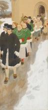 Zorn, Corteo nuziale | Bröllopståg | Wedding procession