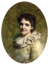 Zorn, Donna con colletto di pizzo | Kvinna med spetskrage | Woman with lace collar