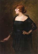 Zorn, Donna in abito nero | Woman in a black dress