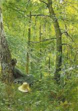 Zorn, Emma Zorn nella foresta di Barbizon | Emma Zorn in Barbizon forest
