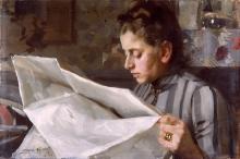 Zorn, Emma che legge | Emma läser | Emma lisant | Emma reading