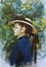 Zorn, Emma Zorn con cappello da pastore | Emma Lamm i schäferhatt | Emma Lamm in shepherd hat