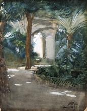 Zorn, Giardino ad Algeri   Trädgård i Alger   Garden in Algiers