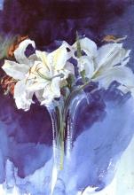 Zorn, Gigli bianchi | Vita liljor | White lilies