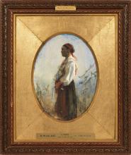 Zorn, Giovane contadina | Ung kulla | A young farm girl