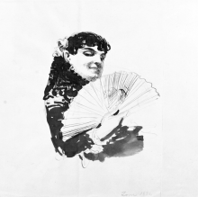 Zorn, Giovane spagnola con ventaglio | Ung spanjorska med solfjäder | Young Spaniard with fan