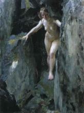 Zorn, Grotta delle cicogne | Storskarsgrottan | The Storskar cave with nude female