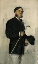 Zorn, Il banchiere Ludvig Arosenius | Bankir Ludvig Arosenius | Banker Ludvig Arosenius