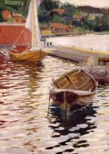 Zorn, Il molo di Dalarö | Dalarö brygga | Dalar island wharf