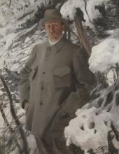 Zorn, Il pittore Bruno Liljefors | Konstnären Bruno Liljefors | The painter Bruno Liljefors