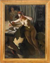 Zorn, Il vecchio specchio | Gammal spegel | The old mirror