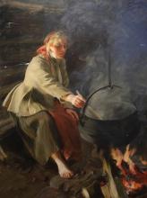 Zorn, In cucina   I eldhuset   In the cookhouse