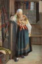 Zorn, Interno con ragazza   Interiör med kulla   Interior with a bride
