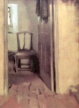 Zorn, Interno con sedia, Saint Ives | Interior with chair, St. Ives