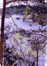 Zorn, Kyrkviken, Lidingö | Church Bay at Lidingo