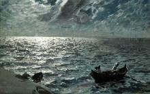 Zorn, La baia di Saint Ives al chiaro di luna | Bukten vid St. Ives i månsken | The bay at St. Ives in the moonlight