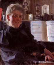 Zorn, La pianista Augusta Gran | Pianisten Augusta Gran | The pianist Augusta Gran