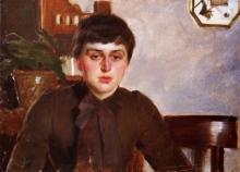 Zorn, La pittrice Alice Miller | Målarinnan Alice Miller | The painter Alice Miller