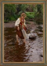 Anders Zorn, La ragazza di Älvdalen | Flickan från Älvdalen | The girl from Älvdalen