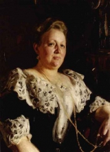Zorn, La signora Edla Nobel, nata Collin | Fru Edla Nobel, f. Collin | Mrs Edla Nobel, née Collin