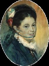 Zorn, La signora Hulda Haeggström | Fru Hulda Hæggström