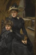 Zorn, La signora Weguelin con suo figlio | Fru Weguelin med son | Mrs Weguelin with her son