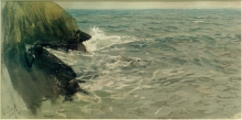 Zorn, Mare e scogliera a Saint Ives | Sea and cliffs at St. Ives