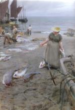 Zorn, Mercato del pesce a Saint Ives | Fiskmarknad i St Ives | Fishmarket in St Ives
