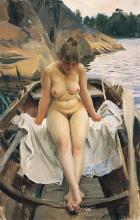 Zorn, Nella barca a remi di Werner | I Werners eka | In Werner's rowing boat
