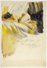 Zorn, Nudo sdraiato sul letto | Nude lying on bed