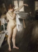 Zorn, Nudo | Naket | Nude | Femme nue se séchant