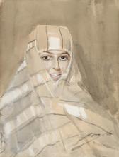 Zorn, Ragazza beduina | Beduinflicka | Bedouin girl
