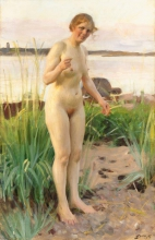 Zorn, Ragazza dello Småland | Småländaska | Girl from Småland