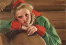 Zorn, Ragazza di Mora   Morakulla   Girl from Mora