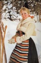 Zorn, Ragazza di Rättvik   Rättvikskulla   Girl from Rättvik