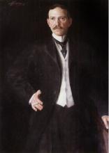 Zorn, Ritratto Mr. Richard Howe   Porträtt av Herr Richard Howe   Portrait of Mr. Richard Howe