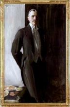 Zorn, Ritratto del ciambellano Erik Hallin | Porträtt av kabinettskammarherre Erik Hallin | Portrait of the cabinet chamberlain Erik Hallin