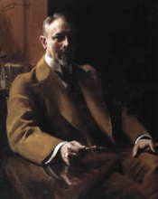 Zorn, Ritratto del console Wilhelm Westrup | Porträtt av Konsul Wilhelm Westrup | Portrait of Consul Wilhelm Westrup